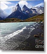 Cuernos Del Paine Patagonia 3 Metal Print