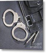 Cuffs Metal Print
