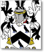 Cullen Coat Of Arms Irish Metal Print
