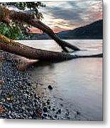 Cultus Lake Sunset Metal Print