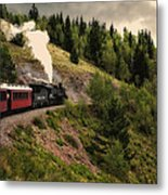 Cumbres And Toltec Train Co And Hm Metal Print