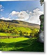 Cumbrian View Metal Print