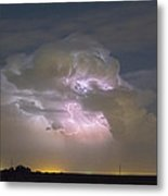 Cumulonimbus Cloud Explosion Portrait Metal Print by James BO  Insogna