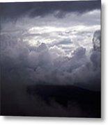 Cumulus On The Blue Ridge Parkway Metal Print