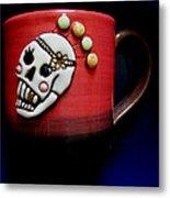 Cup In Bowl Metal Print