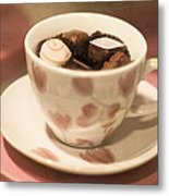 Cup Of Chocolate Metal Print