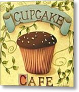 Cupcake Cafe Metal Print