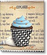 Cupcake Masterpiece Metal Print by Catherine Holman