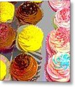 Cupcake Suite Metal Print
