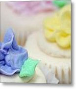 Cupcakes Shallow Depth Of Field Metal Print