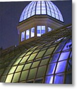 Cupola At Night Metal Print