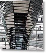 Cupola Reichstag Building II Metal Print