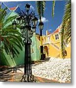 Curacao Colorful Architecture Metal Print
