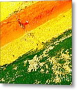 Curb Abstract Metal Print