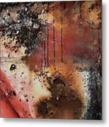 Curb The Corrosion  Metal Print
