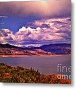Curecanti Autumn Blue Mesa Colorado Metal Print