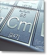 Curium Chemical Element Metal Print