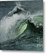Curl Of The Wave Metal Print