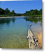 Current River Metal Print by Lena Wilhite