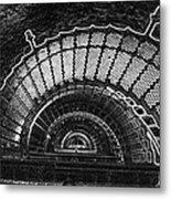 Currituck Lighthouse Stairs Metal Print