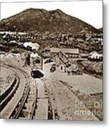Curry Mine.virginia City Nevada.1865 Metal Print