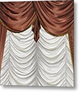 Curtain Metal Print by Matthias Hauser