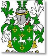 Curtin Coat Of Arms Irish Metal Print