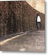 Curved Perspective Metal Print
