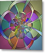 Curves Metal Print by Sandy Keeton