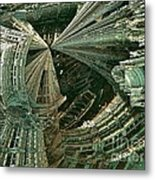 Curvy World Metal Print by Bernard MICHEL