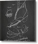 Cushion Insole For Shoes Patent Drawing From 1905 Metal Print