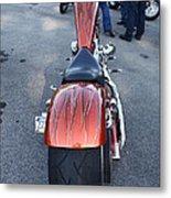 Custom Bike Metal Print