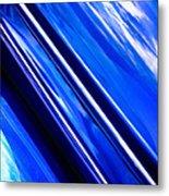 Custom Blue Paint Metal Print by Phil 'motography' Clark