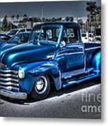 Custom Chevy Pickup Metal Print