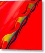 Custom Flame Metal Print by Phil 'motography' Clark