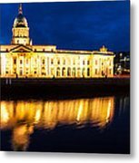 Custom House And International Financial Services Centre Metal Print