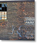 Customer Parking Metal Print