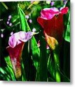 Cut Flowers Metal Print
