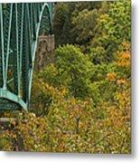 Cut River Bridge 1 A Metal Print