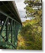 Cut River Bridge 3 A Metal Print