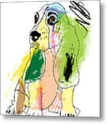 Cute Dog 2 Metal Print