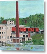 Cutler's Mill - Circa 1870 Metal Print