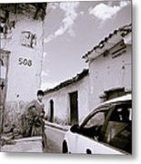 The Streets Of Cuzco Metal Print