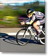 Cycling Prologue Metal Print