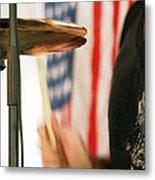 Cymbals Metal Print