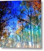 Cypress Fog 3 Metal Print