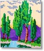 Cypress River Metal Print