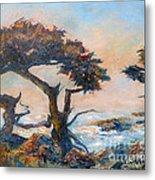 Cypress Tree Coast Metal Print
