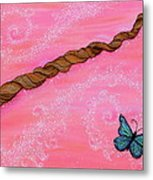 Cypress Wand Metal Print