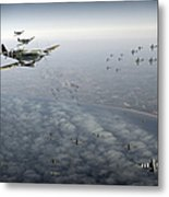 D-day Operation Mallard Metal Print